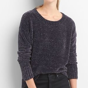 beautiful NWOT chenille crewneck sweater